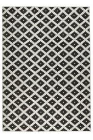 Covor Bougari Modern & Geometric Twin Negru 200x290 cm