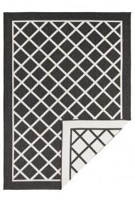 Covor Bougari Modern & Geometric Twin Supreme Negru 200x290 cm