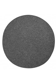 Covor BT Carpet Unicolor Wolly Rotund Negru 133x133 cm
