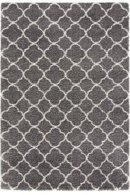 Covor Mint Rugs Shaggy Grace Gri 160x230 cm