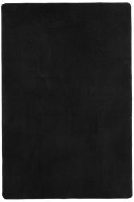 Covor Hanse Home Unicolor Fancy Negru 160x240 cm