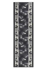 Covor Hanse Home Modern & Geometric Basic Gri 80x350 cm