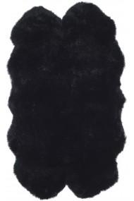 Covor Safavieh Animal Print Reese Piele Negru 90x150 cm
