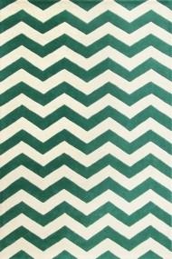 Covor Safavieh Modern & Geometric Crosby Lana Verde/Bej 160x230 cm