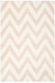 Covor Safavieh Modern & Geometric Stella Lana Roz/Bej 120x180 cm