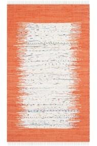 Covor Safavieh Modern & Geometric Saltillo Bej/Portocaliu 90x150 cm