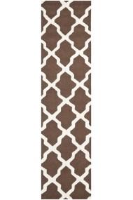 Covor Safavieh Modern & Geometric Ava Lana Maro/Bej 76x182 cm