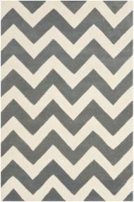 Covor Safavieh Modern & Geometric Crosby Lana Gri/Bej 120x180 cm