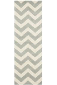 Covor Safavieh Modern & Geometric Crosby Lana Gri/Bej 62x240 cm