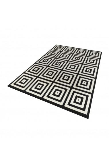 Covor Zala Living Modern & Geometric Capri Negru 140x200 cm
