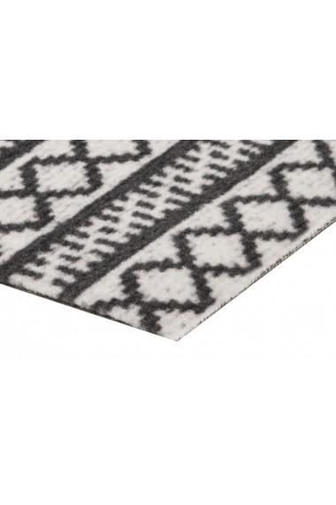 Covor Zala Living Bucatarie Modern & Geometric Cook & Clean Negru 60x180 cm