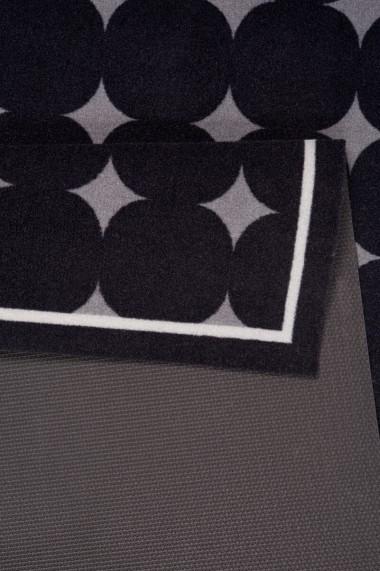 Covor Zala Living Bucatarie Modern & Geometric Cook & Clean Negru 45x140 cm