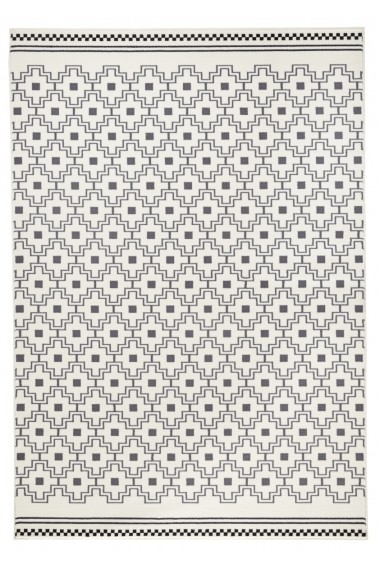 Covor Zala Living Modern & Geometric Capri Gri 200x290 cm