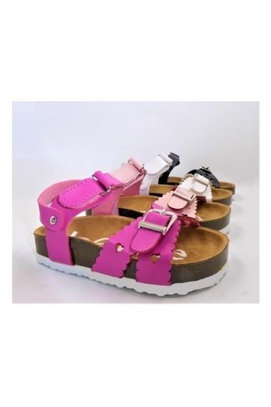 Sandale usoare pentru fetite - Fucsia