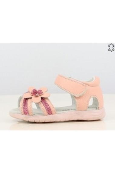 Sandale pentru fetite din piele naturala - Shining Flower