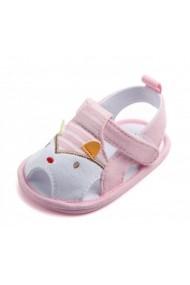 Sandalute roz - Cap de animalut