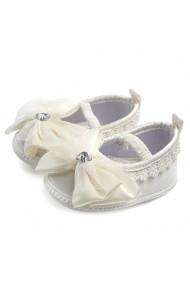 Pantofiori botez fetite - Fundita ivoire