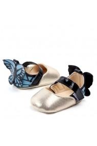Pantofiori fetite - Fluturasul albastru
