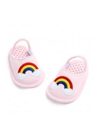 Pantofiori fetite decupati - Curcubeu