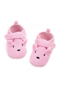 Pantofiori bebelusi - Ursuletul roz