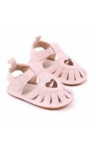 Sandale roz pentru fetite - Heart