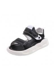 Sandale negre pentru baietei