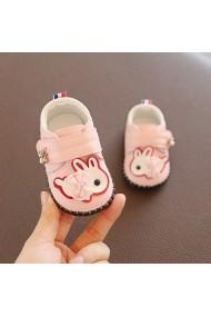 Pantofiori roz pentru fetite - Iepurila