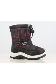 Cizme Superbebeshoes pentru copii Apres Ski Norway pink MBB173028-Negru