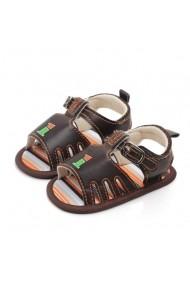 Sandale baietei Superbebeshoes One MDd2155-1-Maro