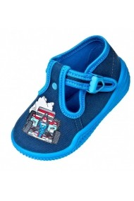Pantofiori baietei Viggami Masina de curse VIG93-Bleumarine