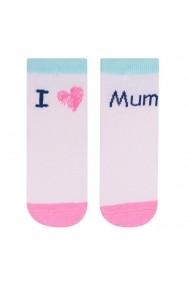 Sosete pentru copii cu mesaje - I love Mum