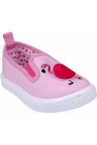 Espadrile pentru fetite YO! Flamingo OT-005-Roz