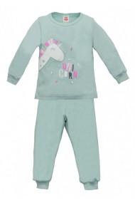Pijama pentru fetite - Colectia Unicorn Mint