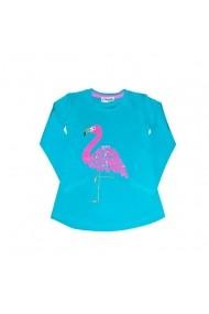 Bluzita turqoise - Flamingo