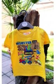 Tricou baietei - Little monster