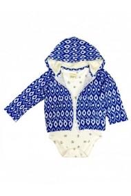 Hanorac pentru bebelusi cu body - Little monkey