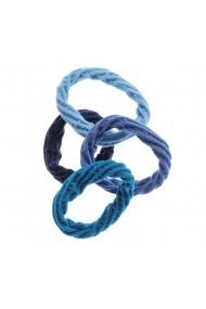 Set 4 elastice albastre plasa