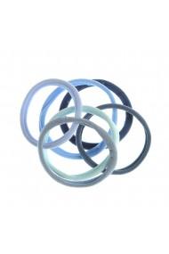Set 6 elastice albastre pentru pa