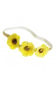 Bentita par cu flori galbene
