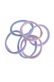 Set 6 elastice simple lila