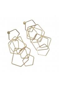Cercei cu elemente geometrice