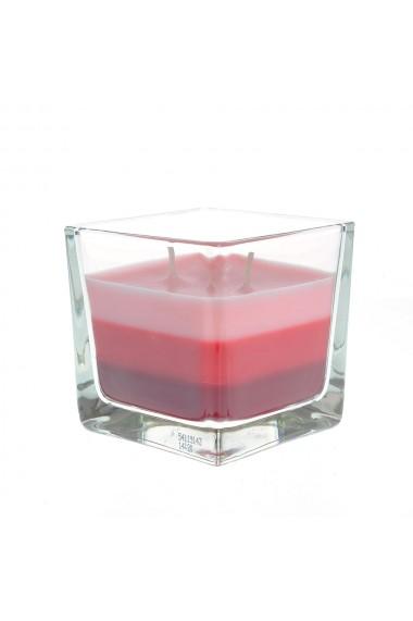 Lumanare parfumata in 3 culori