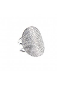 Inel argint oval