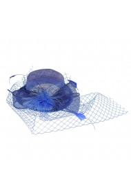 Agrafa palarie albastra cu plasa