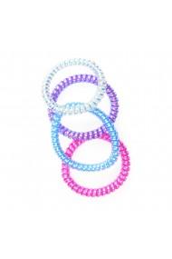 Set 4 elastice spiralate