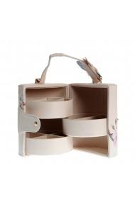 Cutie cilindrica pentru bijuterii