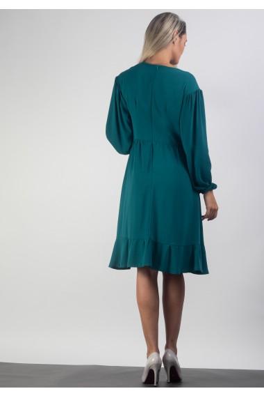 Rochie cu maneca lunga bufanta