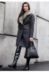 Palton cu blana