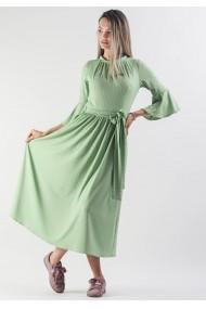 Rochie midi cu aspect striat