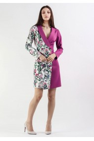 Rochie office tip sacou